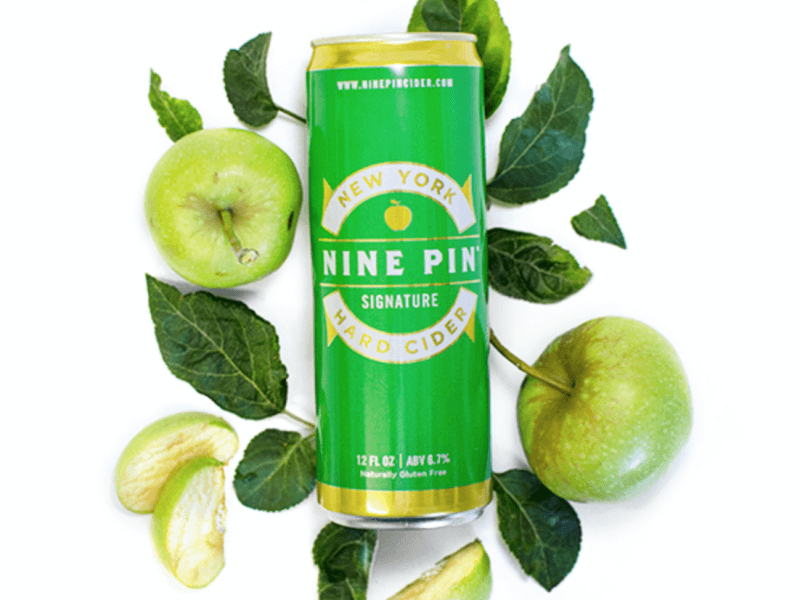 Nine Pin Cider Works logo