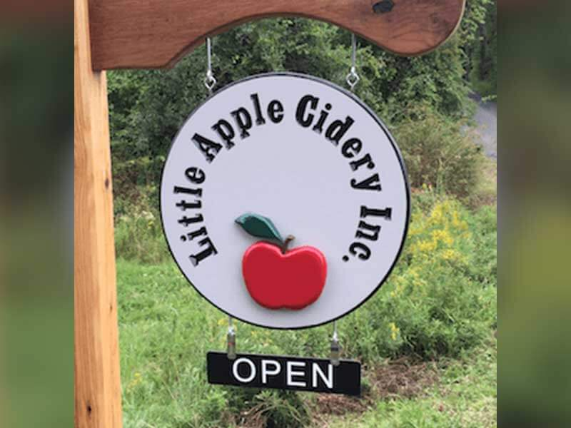 Little Apple Cidery logo