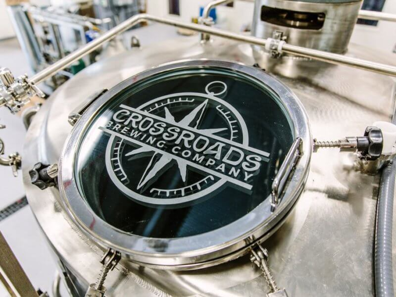 Crossroads Brewing Company logo